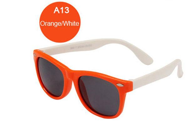 f611dbbf36 ... Kids Rivet Classic TAC Polarized Sunglasses TR90 Flexible Safety Frame  Boy Girl Brand Design Fashion ...