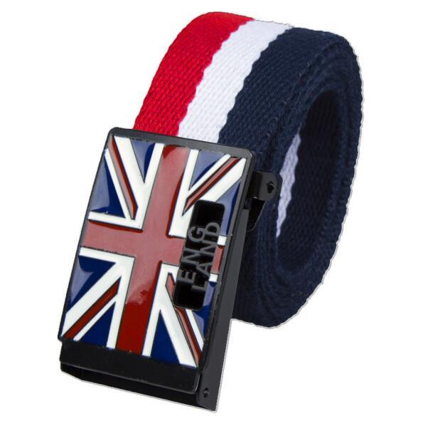 High Quality England Style Casual Fashion Canvas Belts for Men and Women - SolaceConnect.com