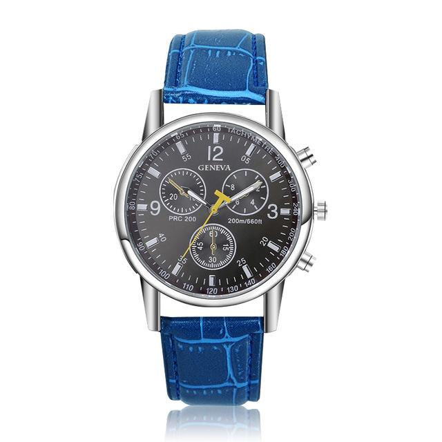 Fashion Quartz Watches Men Hot Sell Luxury Brand Geneva Watch High Quality Top Designer - SolaceConnect.com