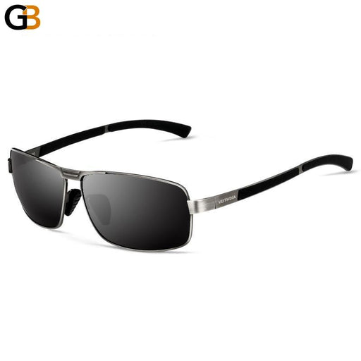 Masculino Eyewear Accessories Men's Polarized Alloy Frame Sunglasses - SolaceConnect.com