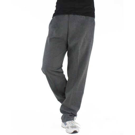 Men Plus Size 6XL Solid Baggy Loose Elastic Cotton Casual Sweatpants - SolaceConnect.com