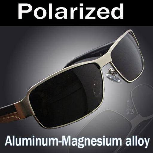 Upgraded Design Men's Classic Polarized Mirror Driving Sunglasses - SolaceConnect.com