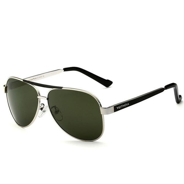 Masculino Original Polarized Designer Stainless Steel Sunglasses for Men - SolaceConnect.com