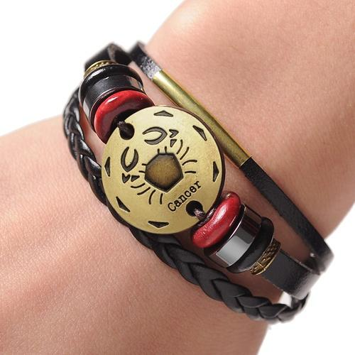 Men and Women's Cuff Leather Bracelet Jewelry for Couples and Lovers - SolaceConnect.com
