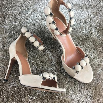 Women's Sexy High Heels Sandals with Buckle Strap Peep Toe & High Heels - SolaceConnect.com