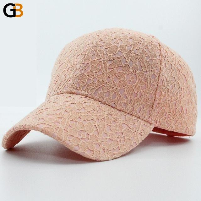 Women's Cotton Breathable One Size Solid Casual Baseball Fashion Cap - SolaceConnect.com