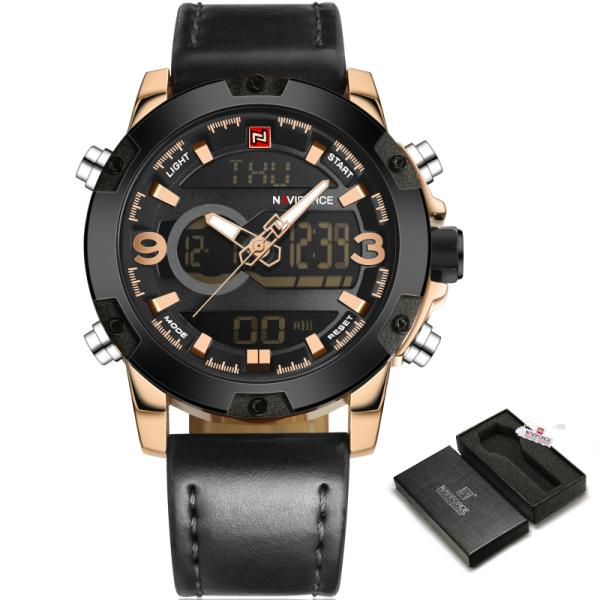 Waterproof Casual Sport Military Brand Quartz Clock Watches for Men - SolaceConnect.com