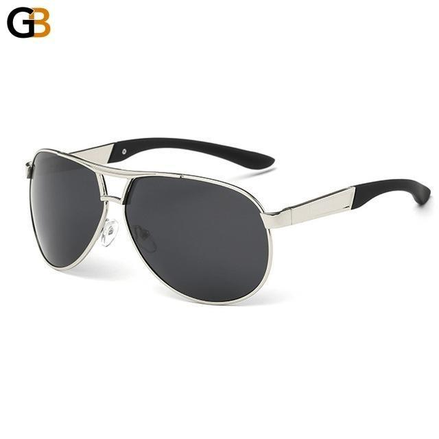 Classic Men's Polarized Pilot Style Sunglasses Driving & Aviation Eyewear - SolaceConnect.com