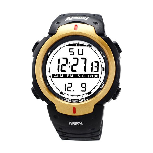 Men's LED Digital Relogio Masculino Fashion Casual Sports Watch - SolaceConnect.com