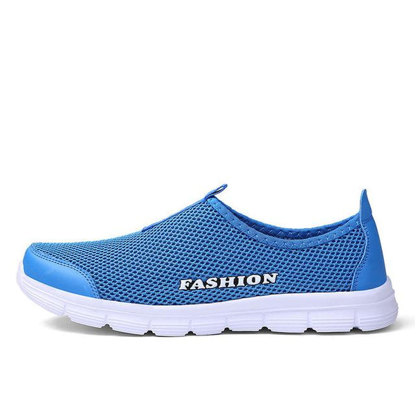 Women's Casual Summer Breathable Flat Slip-On Shoes with Round Toe - SolaceConnect.com