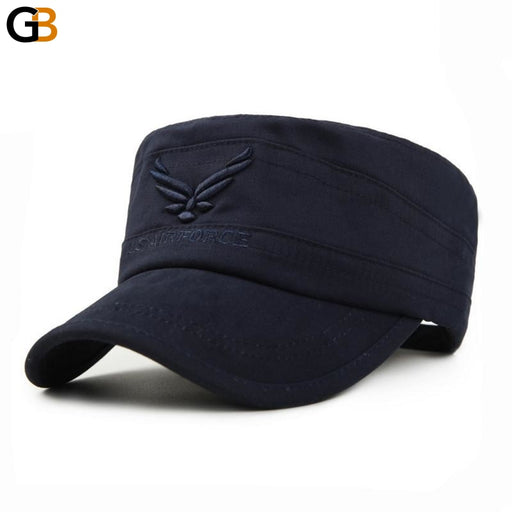 US Air Force Breathable Cotton Army Captain Tactical Hats for Men - SolaceConnect.com