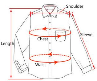 Casual Fashion Long Sleeve Solid Pattern Business Formal Shirt - SolaceConnect.com