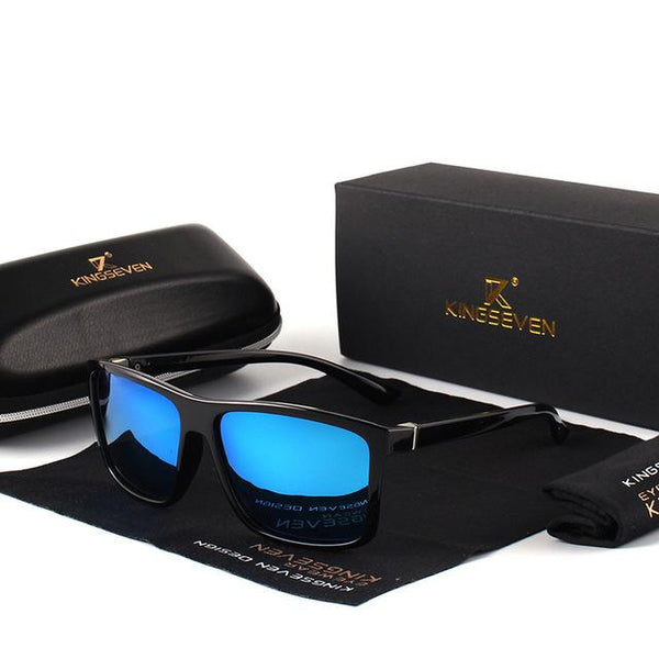 Classic Vintage Unisex Travel Style UV400 Driving Square Sunglasses - SolaceConnect.com