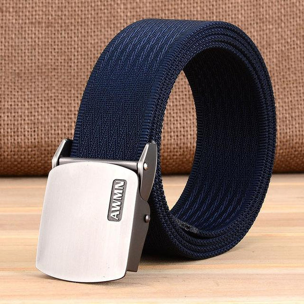 Hot Luxury Men's Real Marcas Fashionable Classic Belt with Pin Buckle - SolaceConnect.com