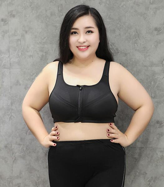 Big Size Professional Level 4 Stretch Quick-Drying Sports Bra for Women - SolaceConnect.com