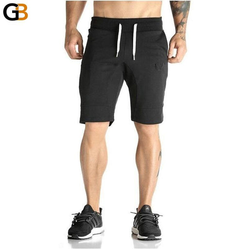 Man Shorts Men's Short Trousers Casual Calf-Length Jogger Mens Shorts Sweatpants Fitness Man - SolaceConnect.com