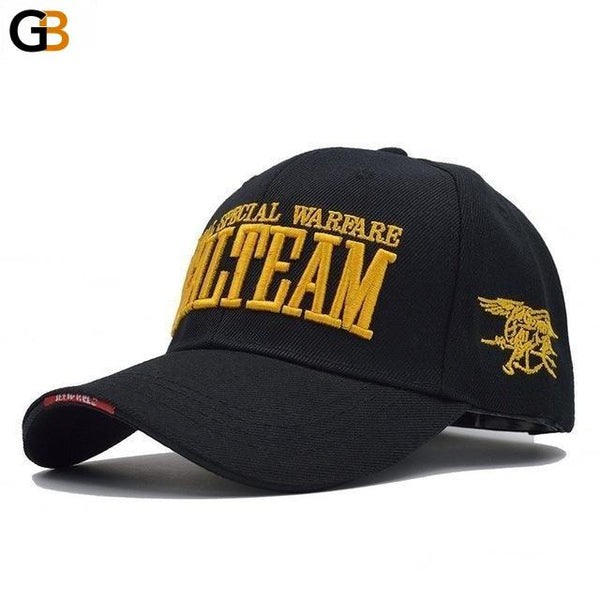 Men's US Navy Seal Team Army Gorras Adjustable Tactical Baseball Cap - SolaceConnect.com
