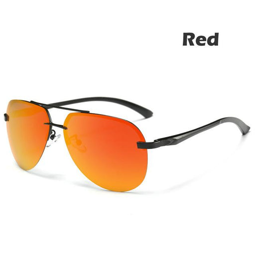 (9-colors) Men's Polarized Sunglasses Metal Alloy Driving Glasses 100% UV400 Protection Goggles - SolaceConnect.com