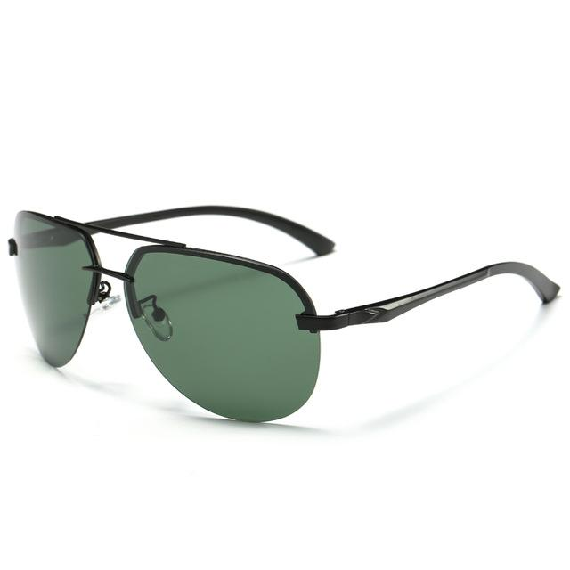 9 Colors Men's Polarized UV400 Protection Sunglasses with Metal Alloy Frame - SolaceConnect.com