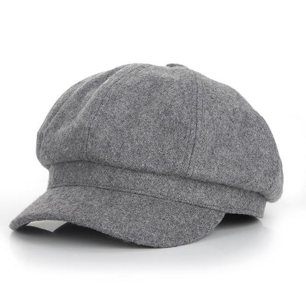 Super Warm High Quality Fashion Artist Wool Beret Hat for Women - SolaceConnect.com