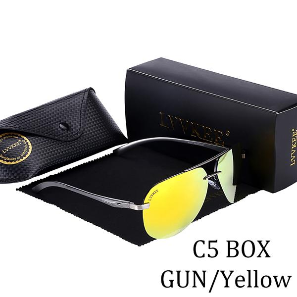 Men's Polarized Driving Sunglasses with UV400 Hot Rays Protection - SolaceConnect.com