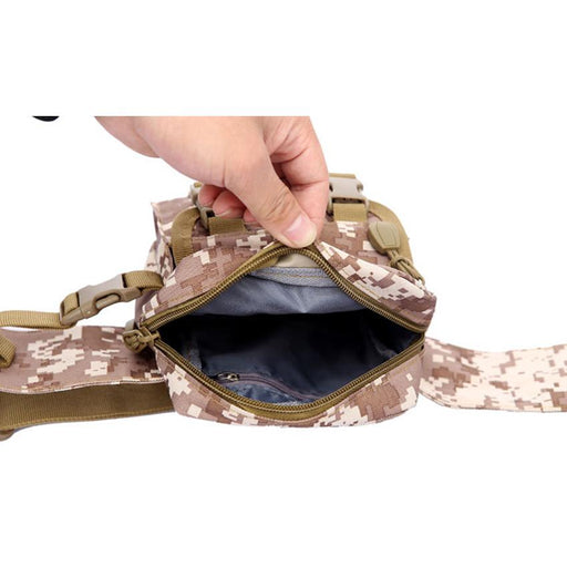 Waterproof Oxford Shoulder Pouch Kettle Bag for Outdoor Military & Tactical - SolaceConnect.com