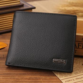NEW Designe euro genuine leather men wallets famous brand men wallet male black coin purse ID
