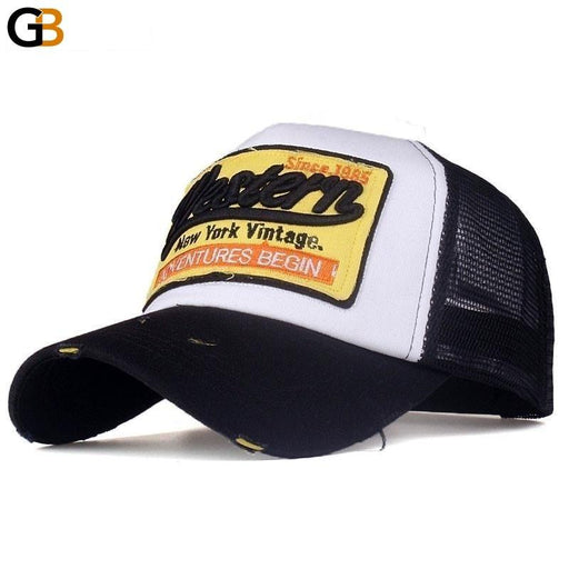 Summer Snapback Casquette Bone Hat Mesh Baseball Cap for Men and Women - SolaceConnect.com