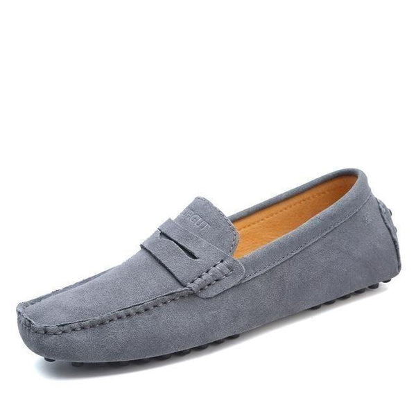 Genuine Leather Summer Style Fashion Men's Soft Moccasin Loafers - SolaceConnect.com