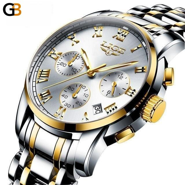 Men's Military Sports Fashion Multifunction Chronograph Quartz Watch - SolaceConnect.com