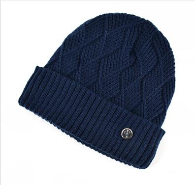 Warm Knitted Wool Bonnet Winter Skullies and Beanies Hats for Men - SolaceConnect.com