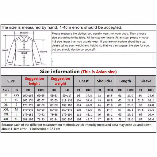 Fashion Men's Spring Casual Slim Fit Fleece Jacket Outerwear - SolaceConnect.com