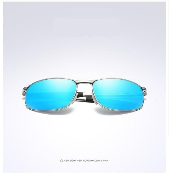 Men's Designer Rectangle Polarized Photochromic Driving Sunglasses - SolaceConnect.com