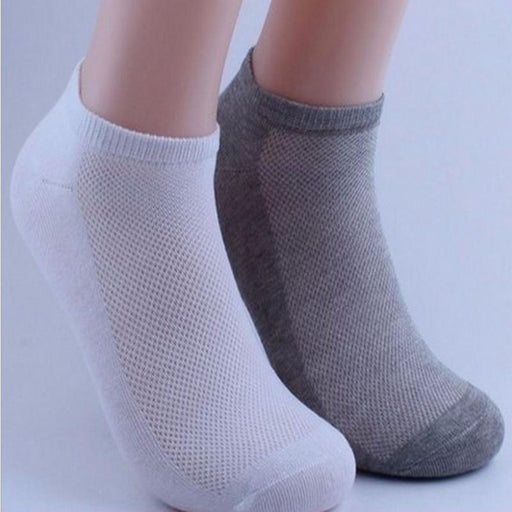 Low-priced 5 Pair Men's Casual Summer Breathable Thin Ankle Socks - SolaceConnect.com