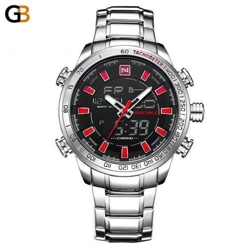 Men's Top Luxury Waterproof Casual Fashion Sports Wristwatches - SolaceConnect.com