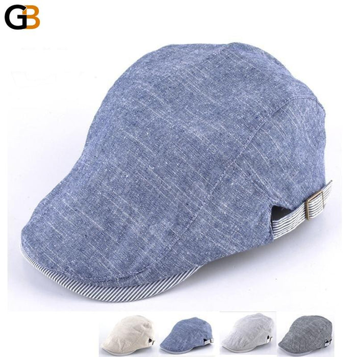 Fashion beret hats for men solid color hat bone boina men flat cap boy casual caps gorras - SolaceConnect.com