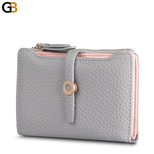 Top Quality Latest Lovely Leather Short Money Coin Wallet for Fashion Girls - SolaceConnect.com