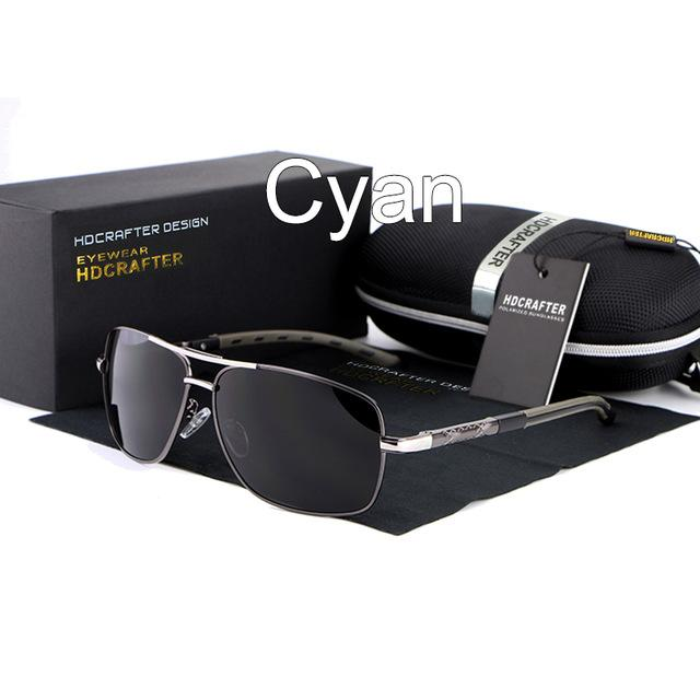 High Quality Men's Designer Polarized Mirrored Sunglasses for Driving - SolaceConnect.com