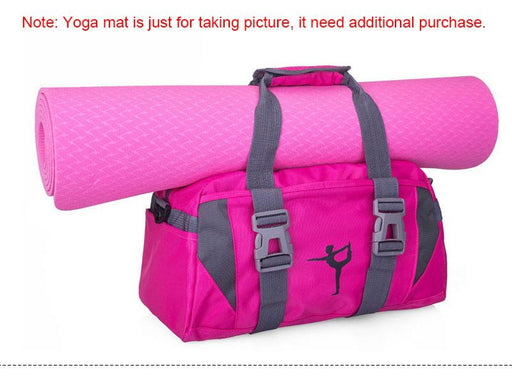 Waterproof Nylon Training Shoulder Crossbody Sports Travel Bag for Women - SolaceConnect.com