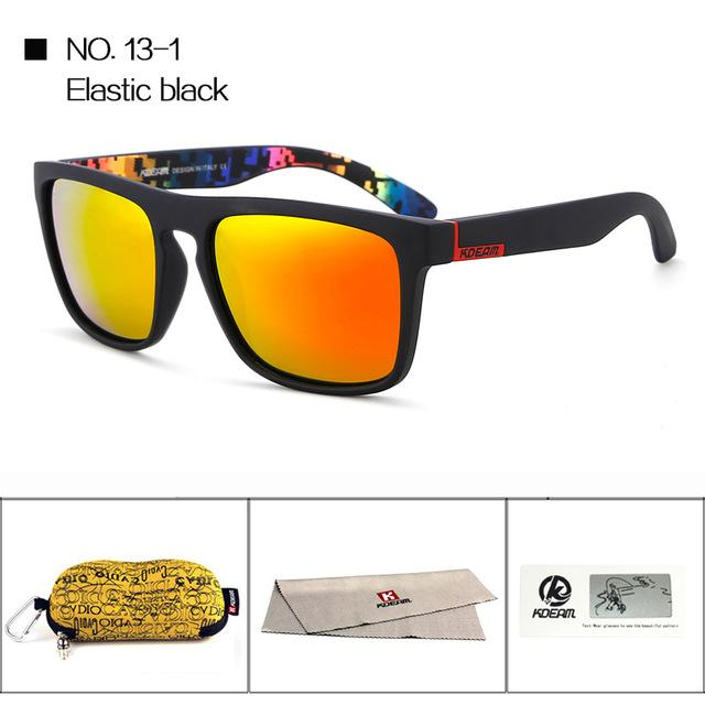 c147f142c3 ... Highly Recommended KDEAM Mirror Polarized Sunglasses Men Square Sport  Sun Glasses Women UV gafas - SolaceConnect ...