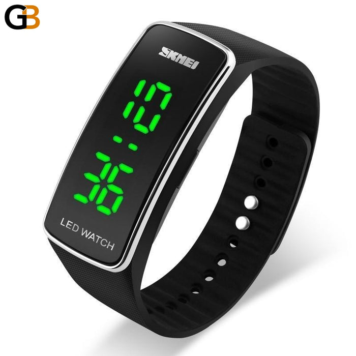 Men Women & Children Sports Wristwatches with Digital LED Display - SolaceConnect.com