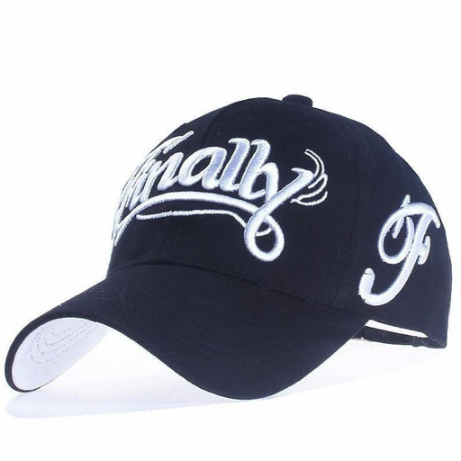 100% Cotton Letter Embroidery Casual Snapback Unisex Baseball Cap - SolaceConnect.com