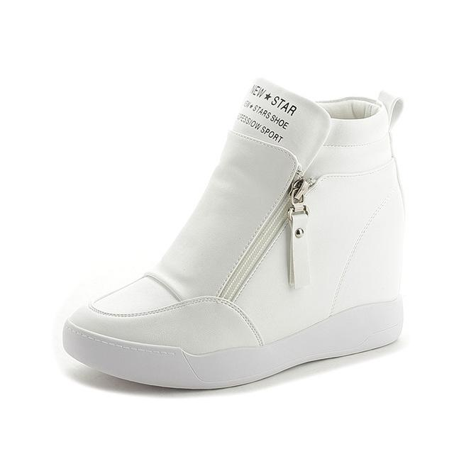 Summer Autumn Increased Platform Wedge Heel Non Slip Boots for Women - SolaceConnect.com