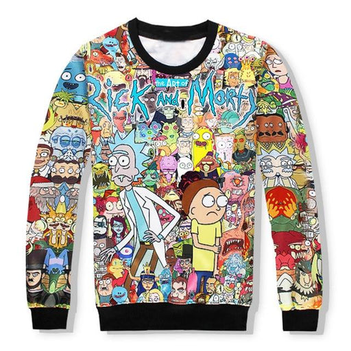 Couple Hoodies 3d Cartoon Sweatshirts Men and Women Funny Hoodies With Hat Cartoon Print Tracksuit - SolaceConnect.com