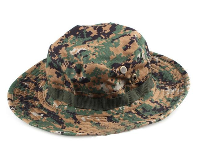 966972135dd Multicam Tactical Airsoft Sniper Camouflage Bucket Boonie Hats Nepalese Cap  Military Army American - SolaceConnect.
