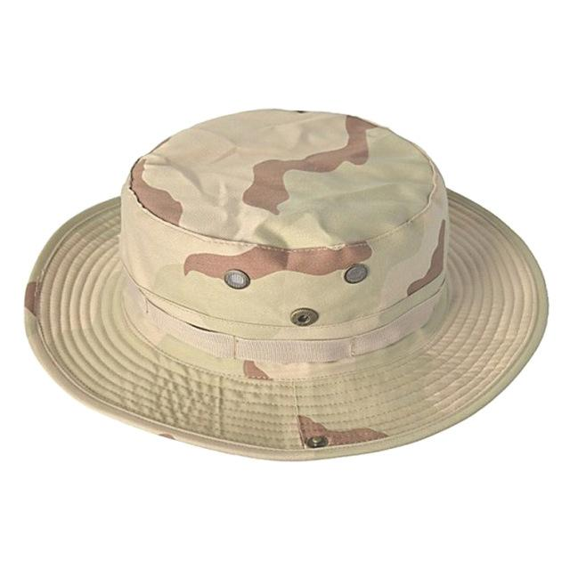 769ad22e4e049 Multicam Tactical Airsoft Sniper Camouflage Bucket Boonie Hats Nepalese Cap  Military Army American - SolaceConnect.