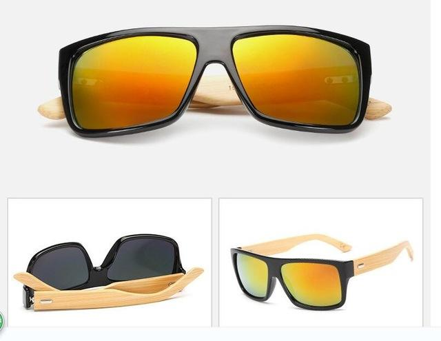 Skull Logo Coating Retro Steampunk Square Sunglasses for Men - SolaceConnect.com