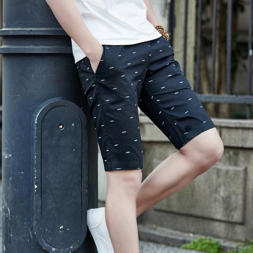Men's Comfortable Casual Cotton Breathable Boardshorts for Summer - SolaceConnect.com