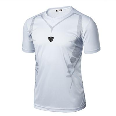 Men's Quick Dry Breathable Jersy Hip Hop T-Shirt for Fitness - SolaceConnect.com