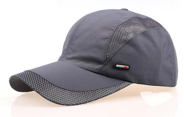 Men & Women Spring Summer Snapback Visor Hip-Hop Breathable Cap Hat - SolaceConnect.com